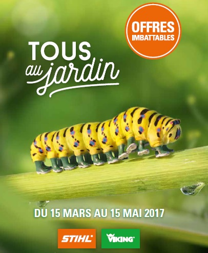 tous au jardin 2017 promo stihl viking. Black Bedroom Furniture Sets. Home Design Ideas